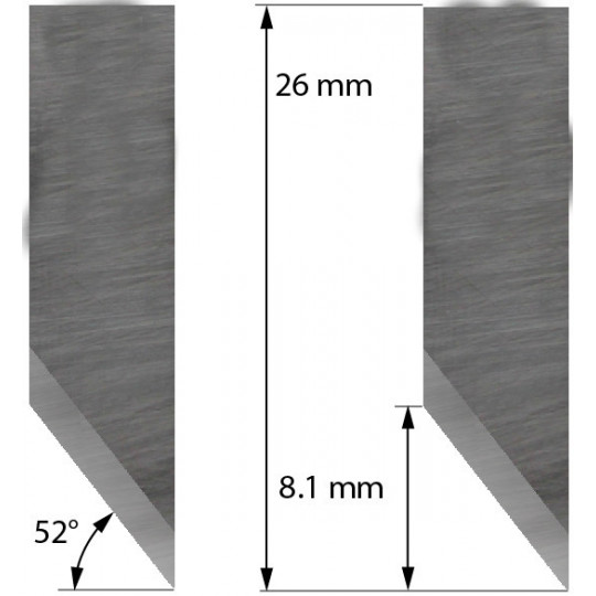 Blade Aoke-Kasemake compatible - Z33 - Max. cutting depth 5 mm