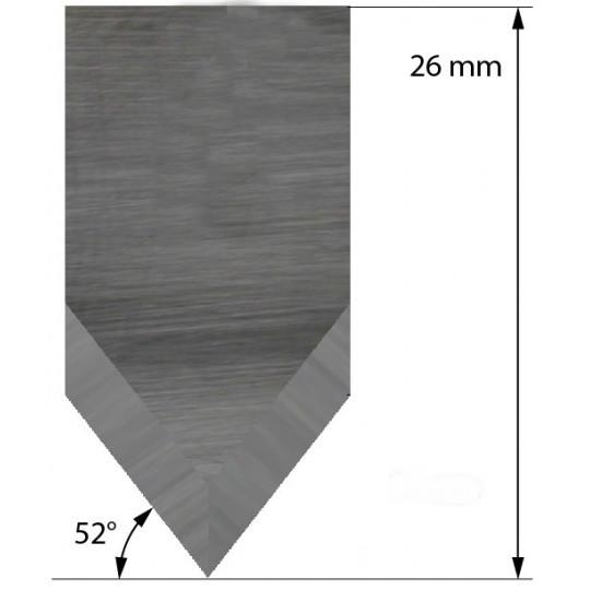 Blade Aoke-Kasemake compatible - Z35 - Max. cutting depth 5 mm