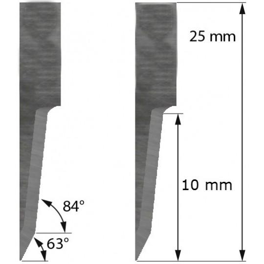 Blade Aoke-Kasemake compatible  - Z20 - Max. cutting depth 10 mm