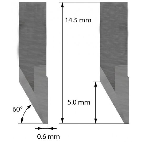 Blade Aoke-Kasemake compatible - Z31 - Max. cutting depth 2.0 mm