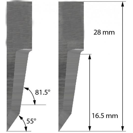 Blade Aoke-Kasemake compatible - Z60 - Max. cutting depth 16.5 mm