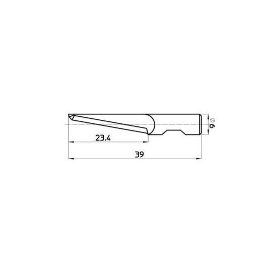 Blade 43903 Sumarai compatible - Max. cutting depth 24 mm