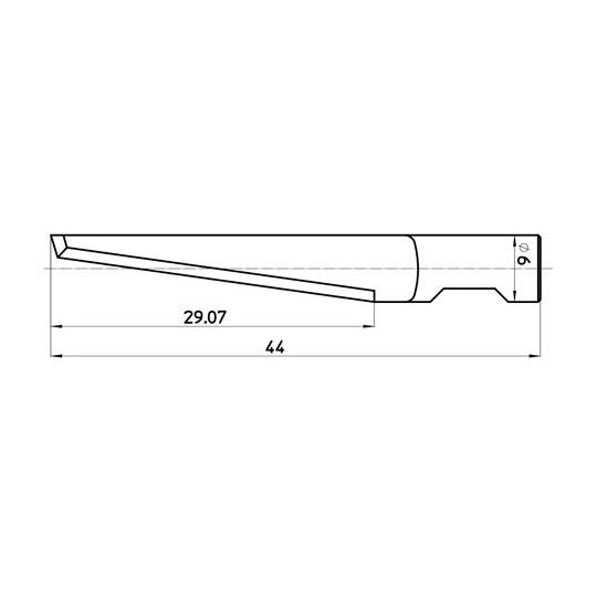 Blade 44734 Sumarai compatible - Max. cutting depth 30 mm