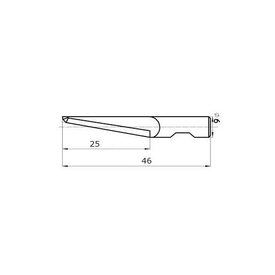 Blade 45267/25 Sumarai compatible - Max. cutting depth 25 mm