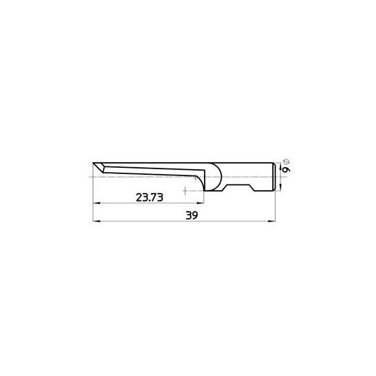 Blade  45432 Sumarai compatible - Max. cutting depth 24 mm