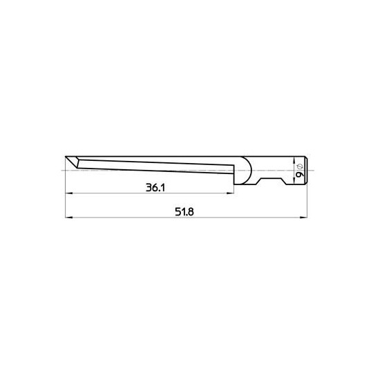 Blade 45435  Sumarai compatible - Max. cutting depth 37 mm