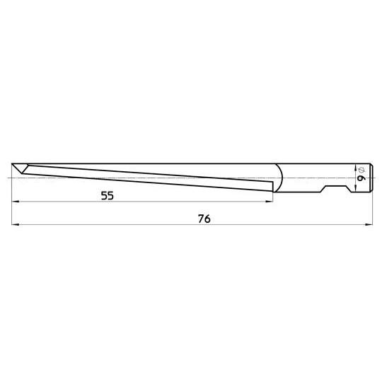 Blade 45922 Sumarai compatible - Max. cutting depth 55 mm