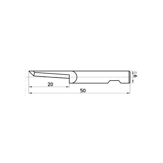 Blade 45949 Sumarai compatible - Max cutting depth 20 mm