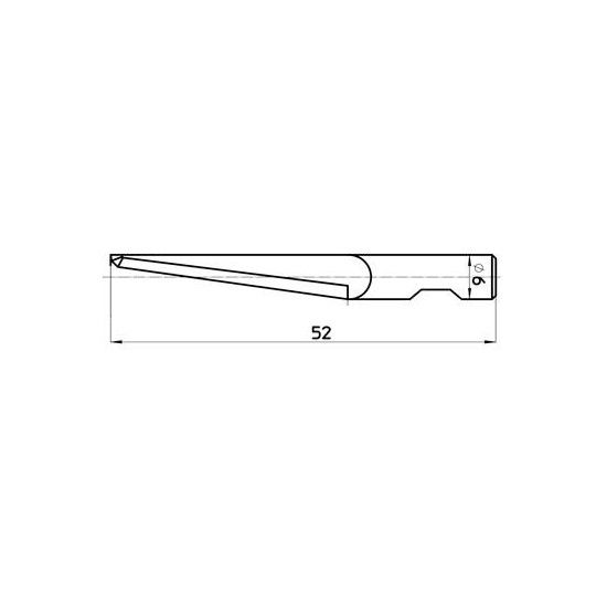 Blade 46047 Sumarai compatible - Max. cutting depth 34 mm