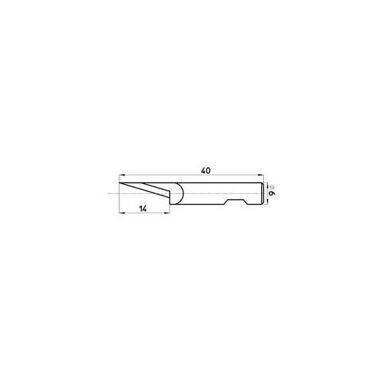 Blade 46926  Sumarai compatible - Max. cutting depth 14 mm