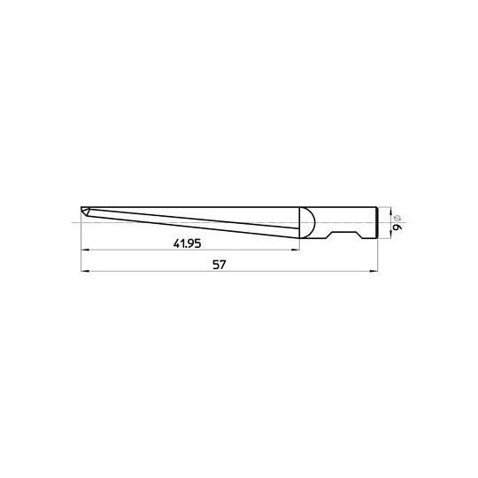 Blade 47078 Sumarai compatible- Max. cutting depth 42 mm