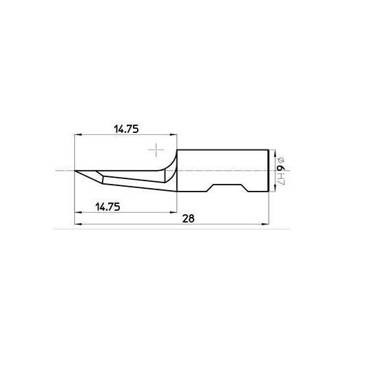 Blade 45093 - Max. cutting depth 15 mm - Sumarai compatible