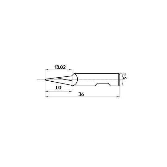 Blade 45429 - Max. cutting depth 13 mm - Sumarai compatible