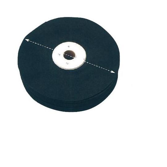 Brush fabric n° sheet 100 Ø 250 mm - 422.1546