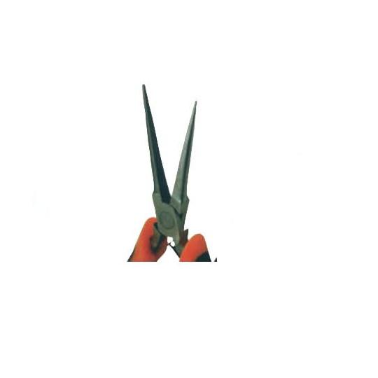 Mini pliers rubber handke circular long tips