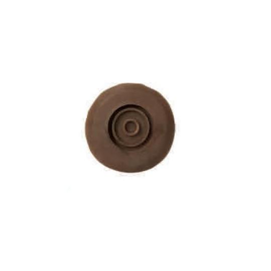 Rubber para bearing for little pomice abrasive 105 mm