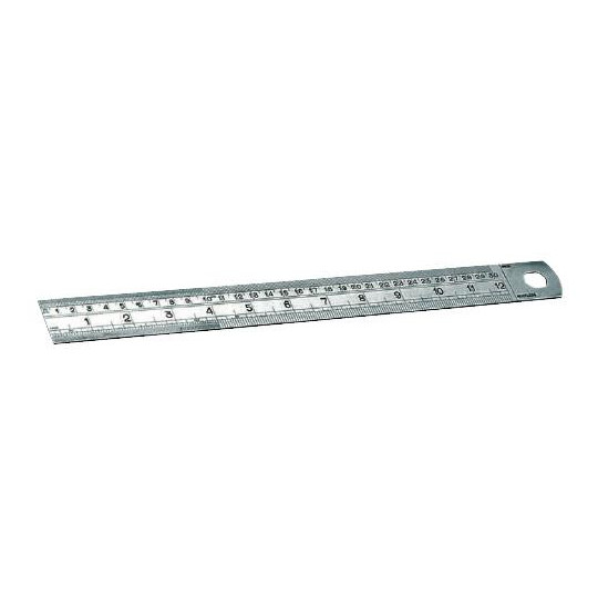 Graduated ruler 300 mm h 25 mm