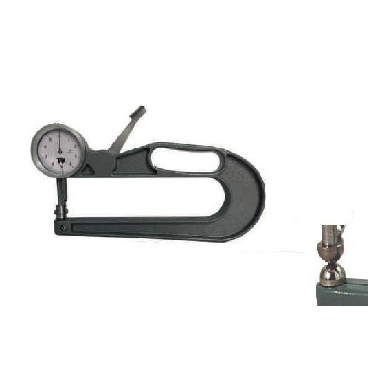 Tool to measure thickness sphere - Max. dimension 30 mm - Depth 200 mm
