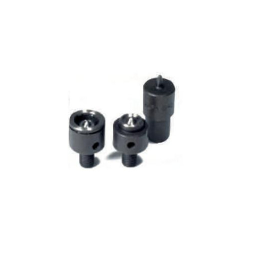 Button Alfa 0/1 - 3 parts + head with spring Ø 17 mm