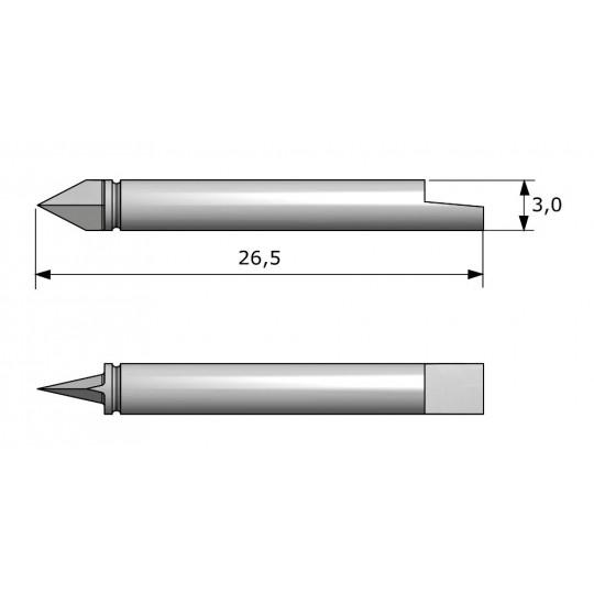 Blade CE7132 - Max. cutting depth 2.6 mm