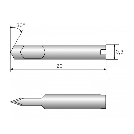 Blade CE138865 - Max. cutting depth 0.87 mm