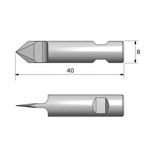 Blade CE8180 - Maxi. cutting depth 5 mm