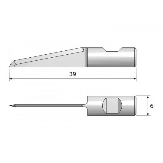 Blade CE6310 - Max cutting depth 20 mm