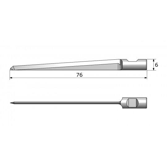 Blade CE6523 - Max. cutting depth 55 mm