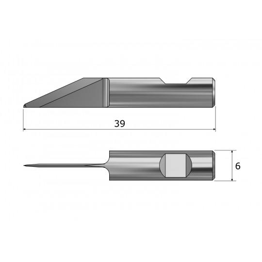 Blade CE126555 - Max. cutting depth 7.4 mm