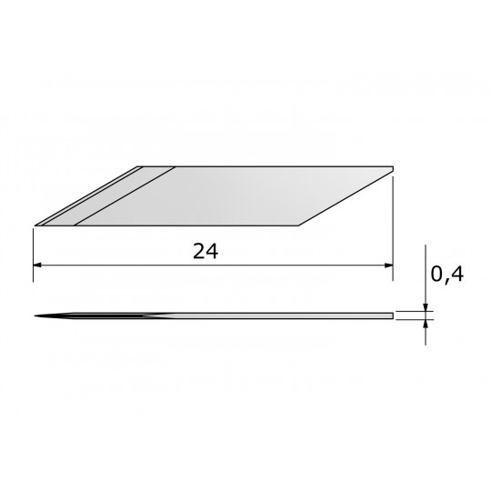 Blade CE143985 - Max. cutting depth 3.2 mm