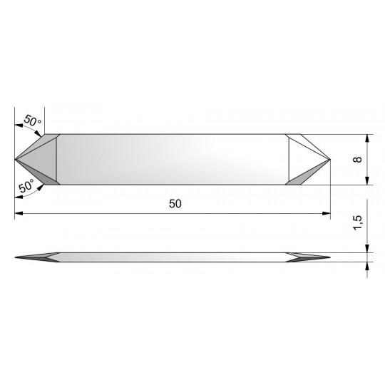 Blade CE12 - Max. cutting depth 4.8 mm