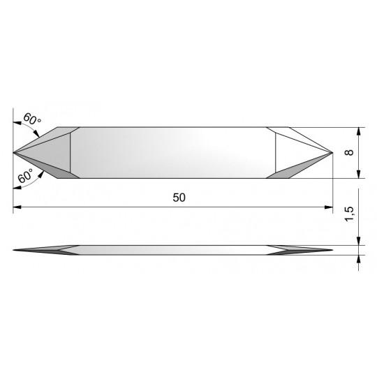 Blade CE13 - Max. cutting depth 6.9 mm