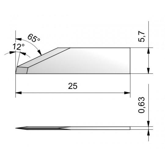 Blade CE26 - Max. cutting depth 8.7 mm