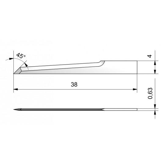 Blade CE28 - Max. cutting depth 26 mm