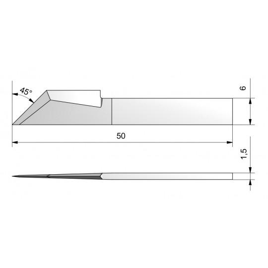 Blade CE46 - Max. cutting depth 20 mm