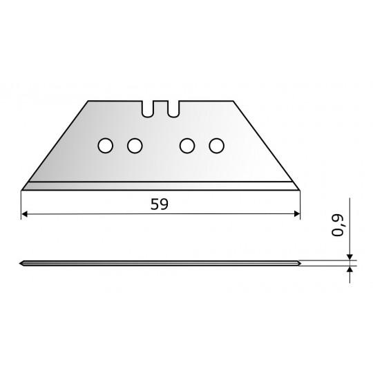 Blade CE73 - Max. cutting depth 59 mm