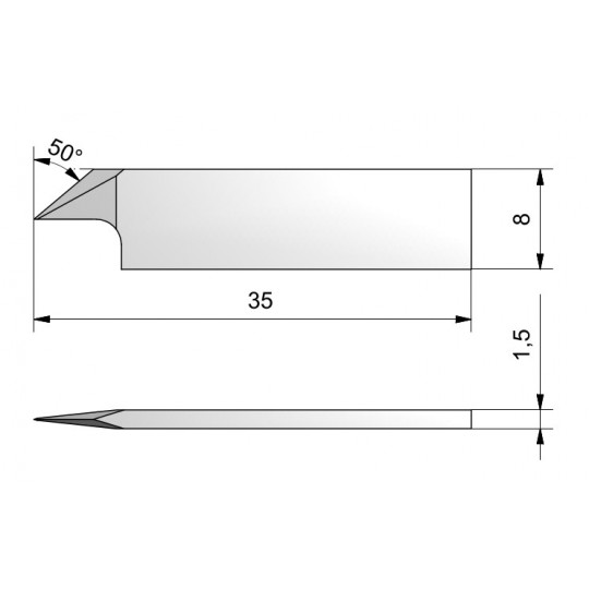 Blade CE110 - Max. cutting depth 4.8 mm