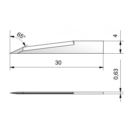Blade CE27 - Max. cutting depth 10 mm
