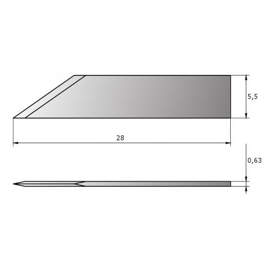 Blade CE200 - Max. cutting depth 7 mm