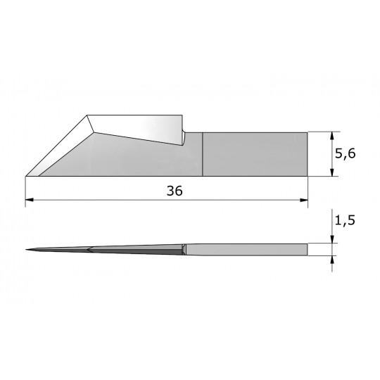 Blade CE246 - Max. cutting depth 19 mm