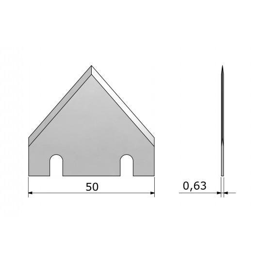 Blade CE571 - Max. cutting depth 16 mm