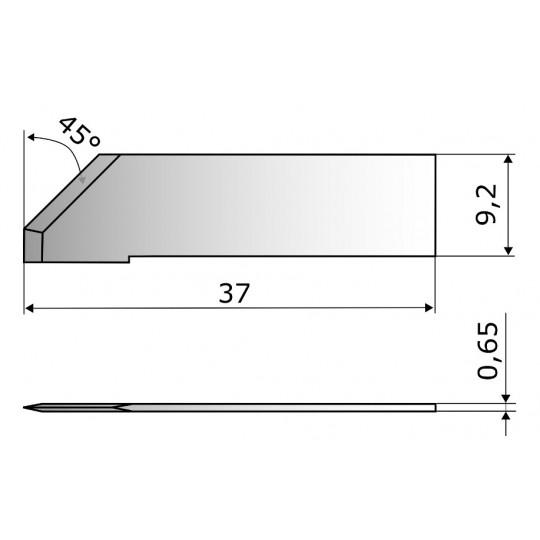 Blade CE4483 - Max. cutting depth 6 mm