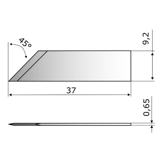 Blade CE7365 - Max. cutting depth 9 mm