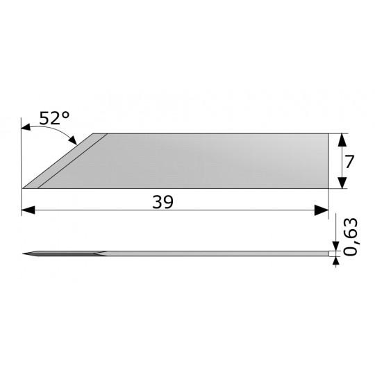 Blade CE138067 - Max. cutting depth 8.5 mm