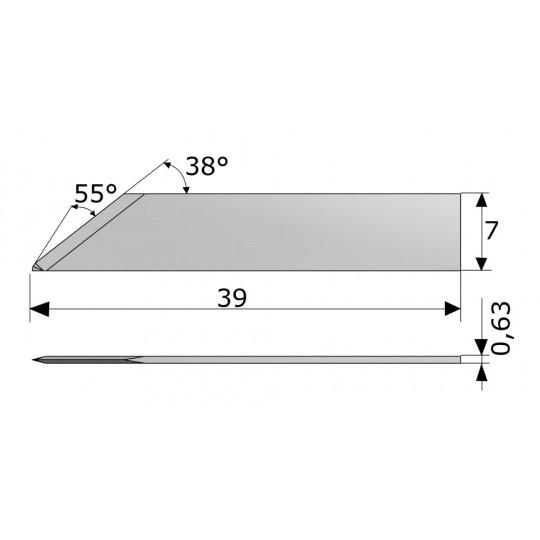 Blade CE138068 - Max. cutting depth 7 mm