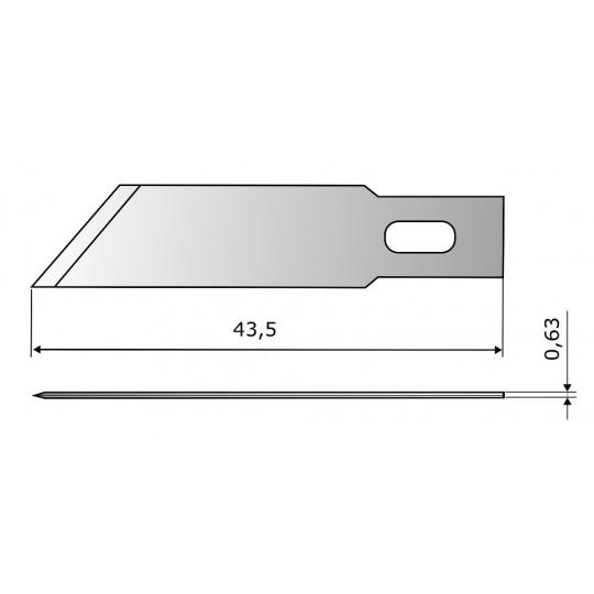 Blade CE300 HSS - Blade lenght 43.5 mm
