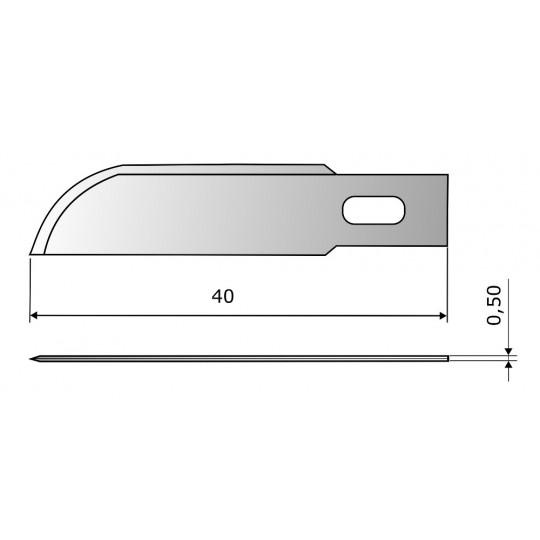 Blade CE303 HSS - Blade lenght 40 mm
