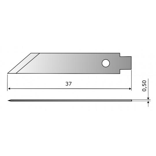 Blade CE304 HSS - Blade lenght 37 mm