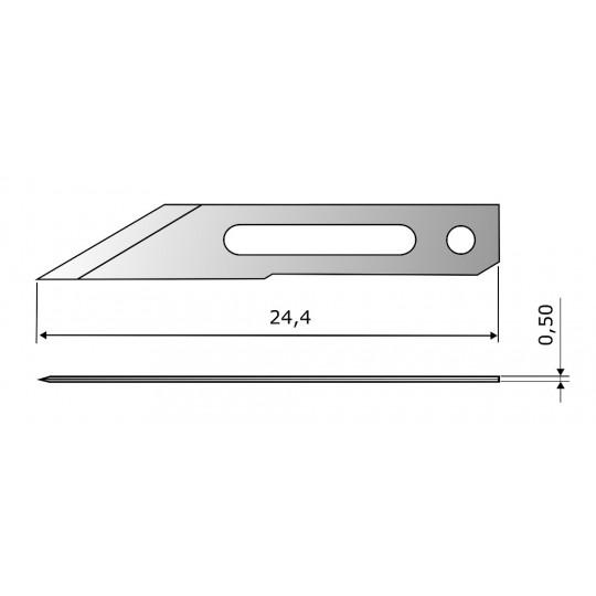 Blade CE305 HSS - Blade lenght 24.40 mm