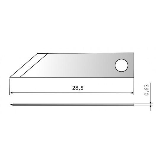 Blade CE7264 HSS - Blade lenght 28.5 mm